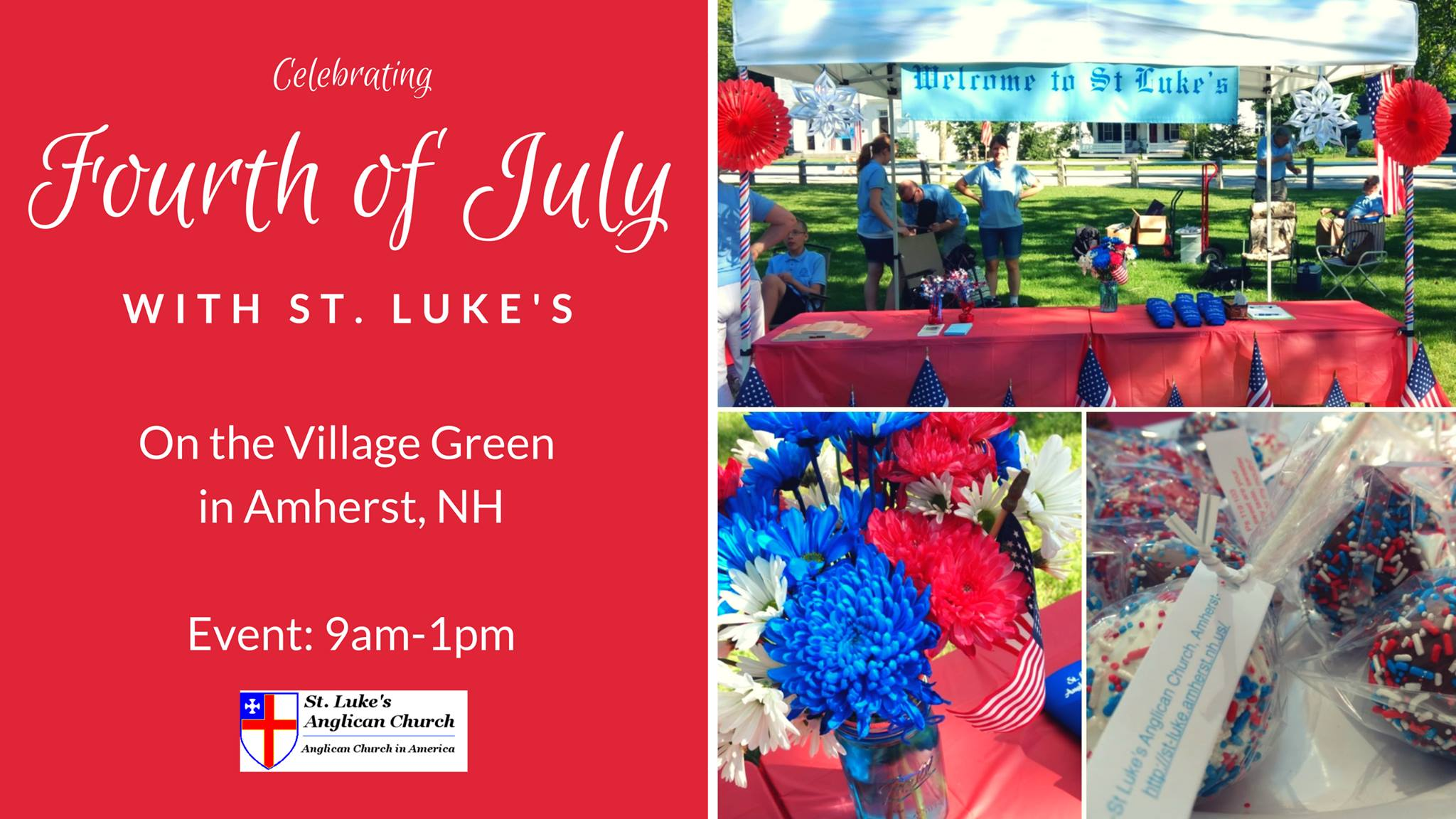 Fourth of July on the Amherst Village Green